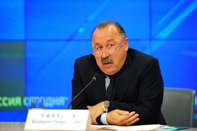 """Валерий ГАЗЗАЕВ. Фото Антон СЕРГИЕНКО , """"СЭ"""""""
