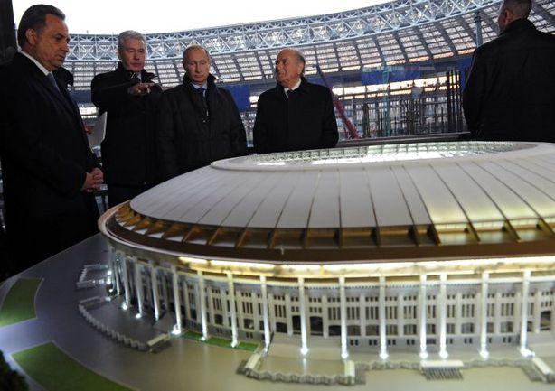 """18 миллиардов рублей будет потрачено на реконструкцию стадиона """"Лужники"""". Фото AFP"""