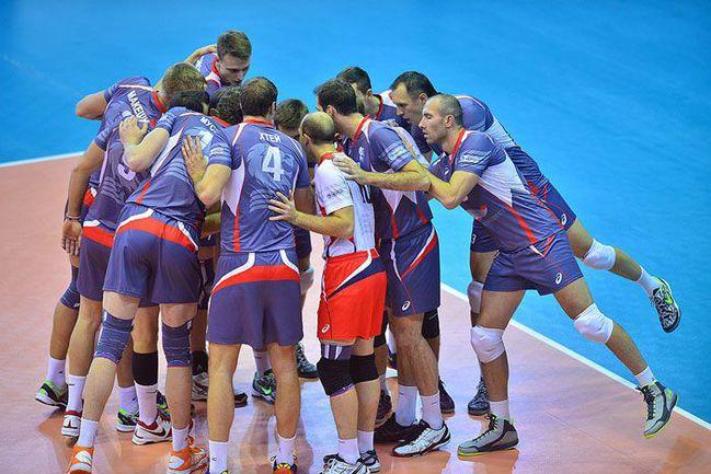 """Волейболисты """"Белогорья"""" не дают шансов соперникам. Фото ВК """"Белогорье""""."""