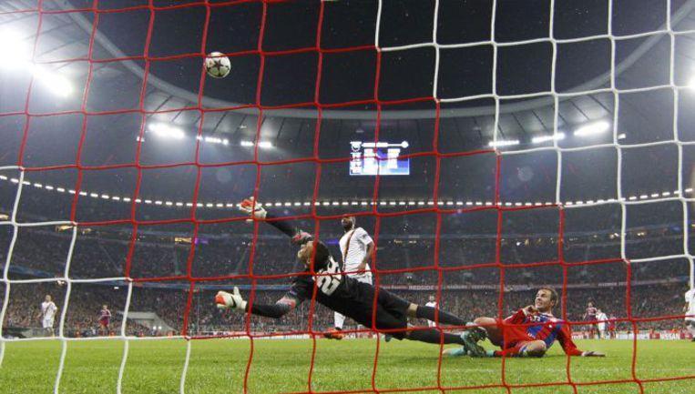 Вчера. Мюнхен. 64-я минута. Гол Марио ГЕТЦЕ. Фото REUTERS
