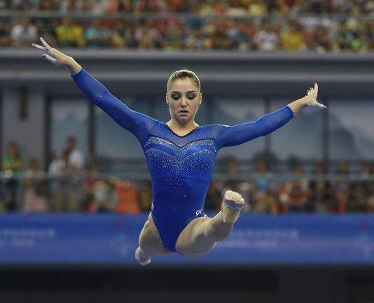 Олимпийская чемпионка Алия МУСТАФИНА. Фото AFP
