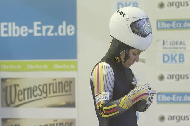 Елизавета ЗУБКОВА в форме сборной Германии. Фото предоставлено Федерацией бобслея России