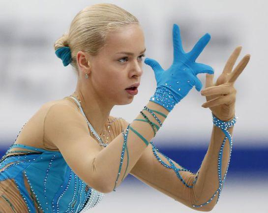 Российская фигуристка Анна ПОГОРИЛАЯ,. Фото REUTERS
