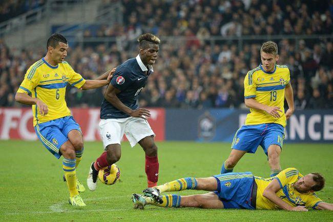 Вторник. Марсель. Франция - Швеция - 1:0. Полузащитник хозяев Поль ПОГБА в этот вечер был неудержим. Фото AFP
