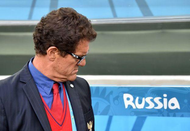 26 июня. Куритиба. Алжир - Россия - 1:1. Фабио КАПЕЛЛО. Фото AFP
