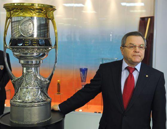 Владимир ШАЛАЕВ. Фото Владимир БЕЗЗУБОВ, photo.khl.ru