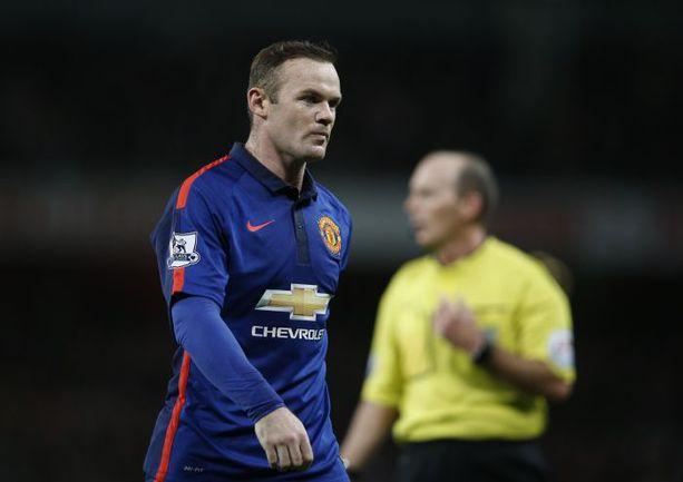 "Суббота. Лондон. ""Арсенал"" - ""Манчестер Юнайтед"" - 1:2. Автор победного гола Уэйн РУНИ. Фото AFP"
