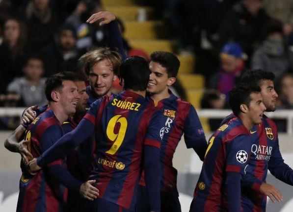 """""""Барселона"""" отправляется в гости к """"Валенсии"""". Фото AFP"""