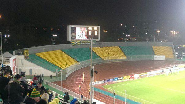 Пустые сектора стадиона в Краснодаре. Фото vk.com/fc_kuban