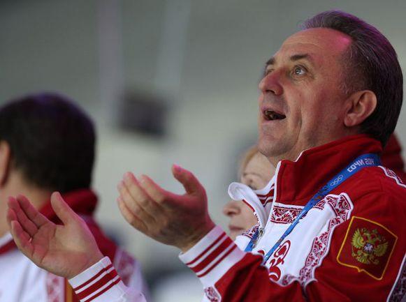 Виталий МУТКО радуется очередной медали на Олимпиаде в Сочи. Фото ТАСС