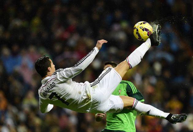 """Суббота. Мадрид. """"Реал"""" – """"Сельта"""" – 3:0. КРИШТИАНУ РОНАЛДУ. Фото REUTERS"""