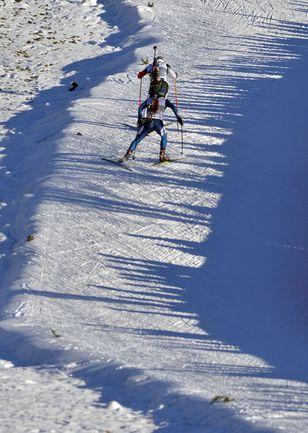 Необычный спринт остался за младшим Бё Фото AFP