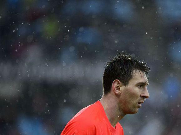 """Суббота. Хетафе. """"Хетафе"""" - """"Барселона"""" - 0:0. Лионель МЕССИ. Фото AFP"""
