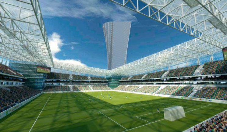 Так стадион ЦСКА должен выглядеть после завершения строительства... Фото ПФК ЦСКА