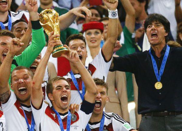 Сборная Германии - чемпион мира-2014. Фото Reuters