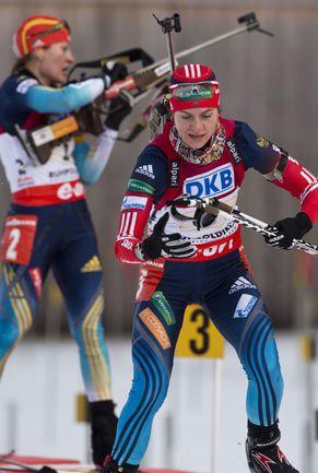Новые антидопинговые правила  могут обернуться для российской биатлонистки  Ирины СТАРЫХ ужесточением  дисквалификации. Фото «СЭ»
