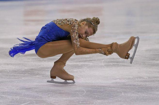 Елена РАДИОНОВА - новая чемпионка России. Фото AFP