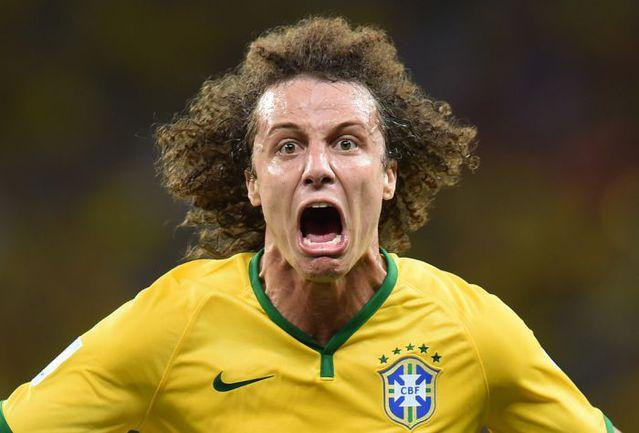 Защитник сборной Бразилии ДАВИД ЛУИЗ. Фото AFP