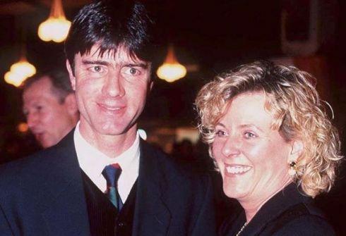 Йоахим ЛЕВ c супругой Даниэлой: 18 лет назад. Фото DFB