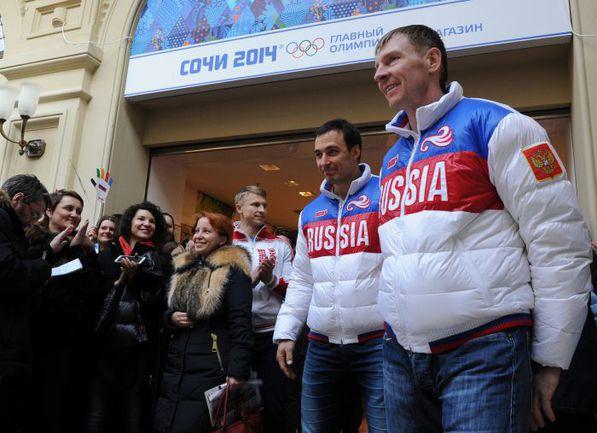 """Алексей ВОЕВОДА и Александр ЗУБКОВ (справа). Фото Никита УСПЕНСКИЙ, """"СЭ"""""""