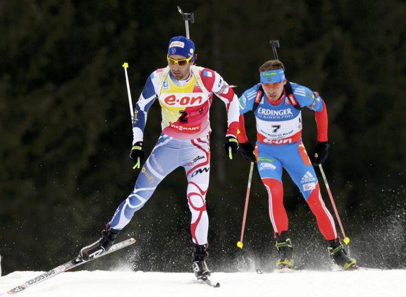 Мартен ФУРКАД (слева) и Антон ШИПУЛИН. Фото AFP