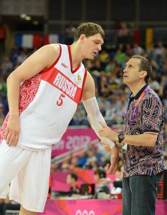Тимофей МОЗГОВ и Дэвид БЛАТТ на Олимпиаде в Лондоне. Фото AFP