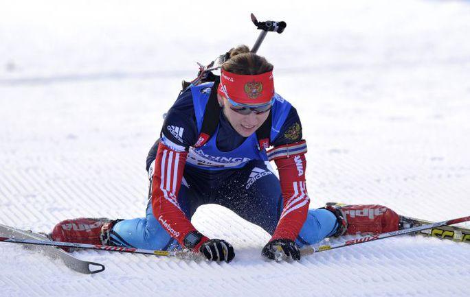 Екатерина ГЛАЗЫРИНА. Фото AFP