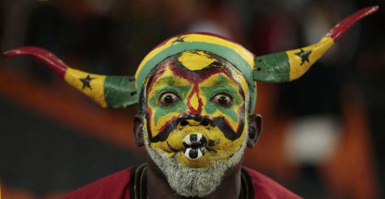 Болельщик сборной Ганы. Фото REUTERS