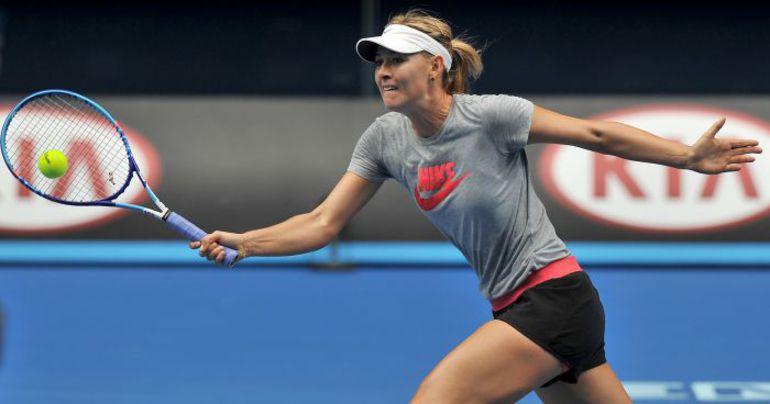 Четверг. Мельбурн. Мария ШАРАПОВА готовится к Australian Open. Фото REUTERS