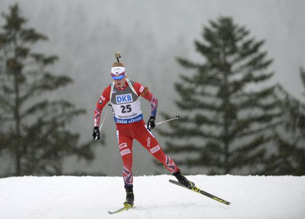 Сегодня. Рупольдинг. Победитель спринта Йоханнес БЁ. Фото AFP