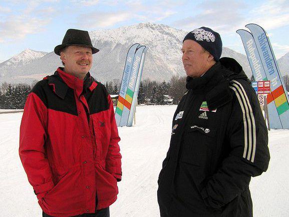 Братья Клаус (слева) и Вольфганг ПИХЛЕРЫ. Фото claus-pichler.de