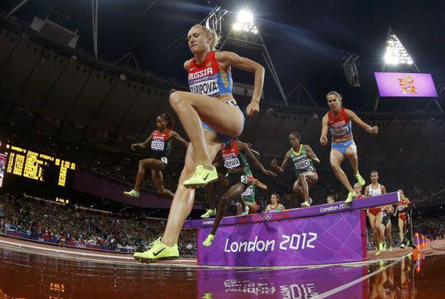 4 августа 2012 года. Лондон. Победный забег Юлии ЗАРИПОВОЙ на Олимпиаде. Фото REUTERS