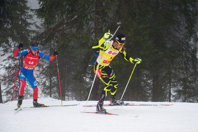 Антон ШИПУЛИН догоняет Мартена ФУРКАДА и на этой трассе, и в общем зачете Кубка мира. Фото AFP