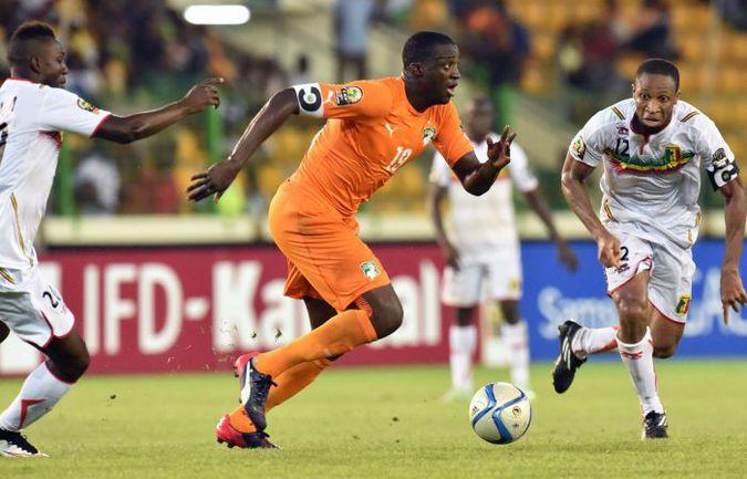 Капитан Кот-д'Ивуара Яя ТУРЕ не блещет на Кубке Африки. Фото AFP