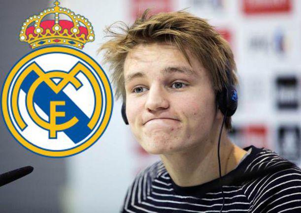 "16-летний новобранец ""Реала"" Мартин ЭДЕГОР. Фото AFP"