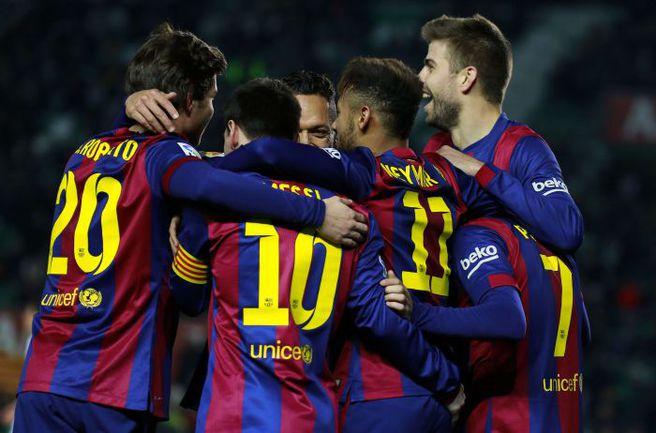 """Победа над """"Атлетико"""" заставит говорить о """"Барселоне"""" в других тонах. Фото REUTERS"""