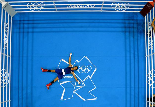 WBA, WBC, IBF и WBO сдружились против AIBA. Предметом спора являются, как ни странно, Олимпийские игры. Фото AFP