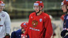 Нападающий сборной России Андрей ЛОКТИОНОВ.