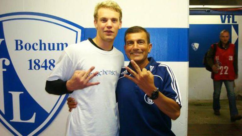 Мануэль НОЙЕР (слева) и его спаситель Эллиот ПАЕС. Фото espn.uol.com.br