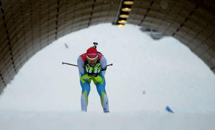 Нове-Место. Яков ФАК сделал дубль, Антон Шипулин сделал шаг назад. Фото AFP