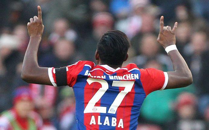 """Суббота. Штутгарт. """"Штутгарт"""" - """"Бавария"""" - 0:2. 51-я минута. Только что Давид АЛАБА установил окончательный счет встречи. Фото AFP"""