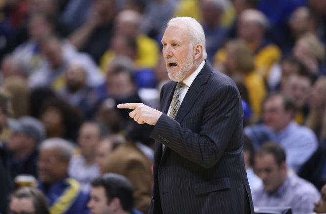 """Понедельник. Индиана. """"Индиана"""" – """"Сан-Антонио"""" – 93:95. Грег ПОПОВИЧ идет к 1000 победе в НБА. Фото REUTERS"""