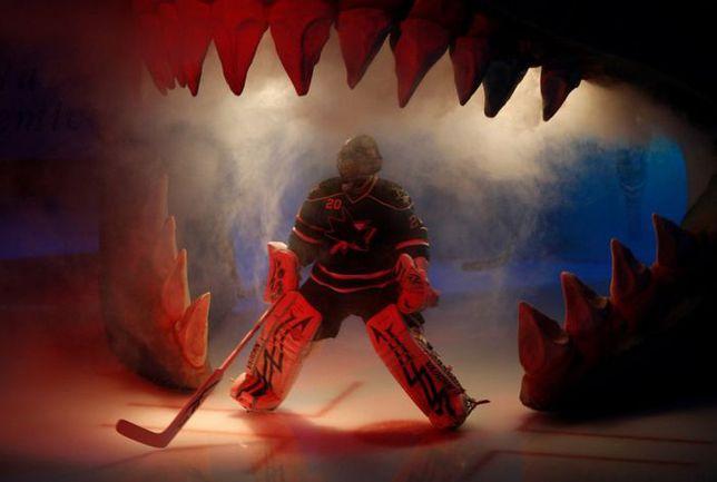 "Сегодня. Сан-Хосе. Евгений НАБОКОВ последний раз выходит на лед в форме ""Шаркс"". Фото San Jose Mercury News"