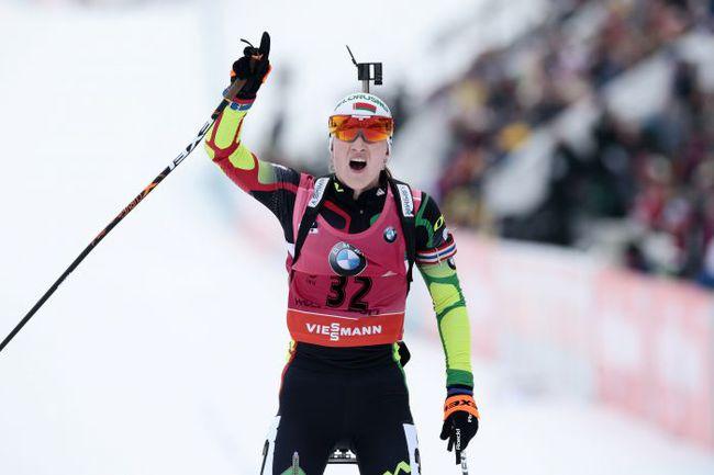 Сегодня. Холменколлен. Дарья ДОМРАЧЕВА выиграла спринт. Фото AFP