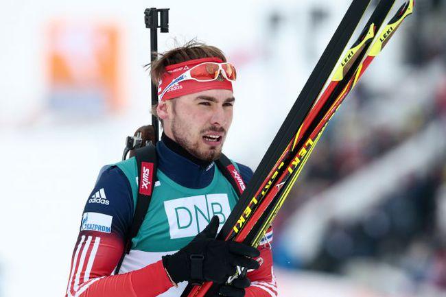 Сегодня. Холменколлен. Антон ШИПУЛИН после финиша. Фото AFP
