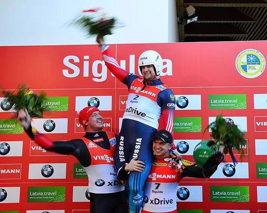 Сегодня. Сигулда. Семен ПАВЛИЧЕНКО - чемпион мира. Фото FIL