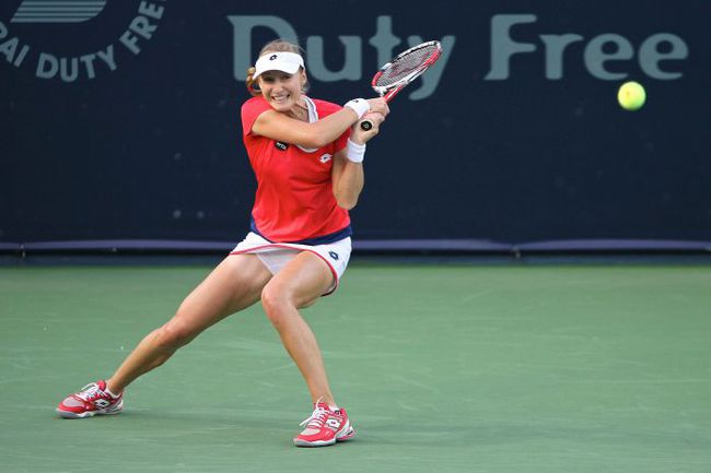 Сегодня. Дубай. Екатерина МАКАРОВА. Фото WTA Dubai Duty Free
