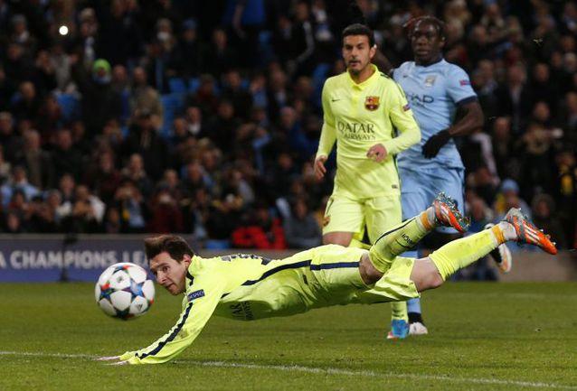 """Вторник. Манчестер. """"Манчестер Сити"""" - """"Барселона"""" - 1:2. 90+3 минута. Секунду назад Лионель МЕССИ не смог реализовать пенальти, а через секунду не попал в створ на добивании. Фото REUTERS"""