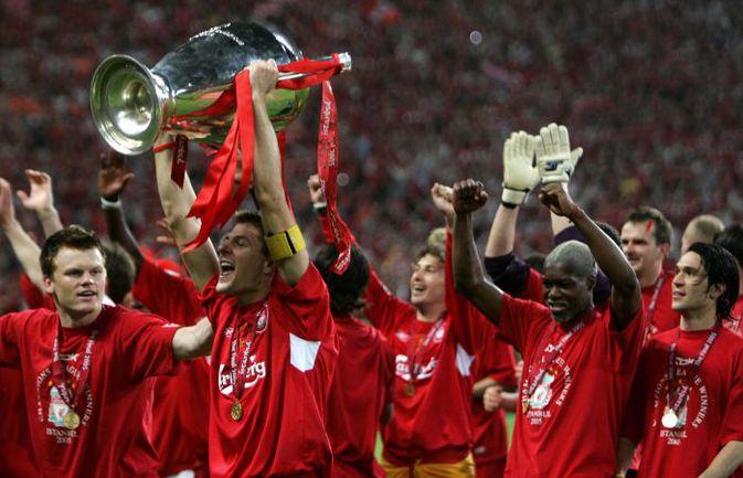 """25 мая 2005 года. Стамбул. """"Ливерпуль"""" - """"Милан"""" - 3:3, пен. - 3:2. Фото AFP"""