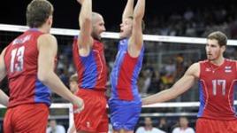 Матч звезд мужской суперлиги по волейболу